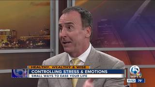 Tips on controlling stress and emotions