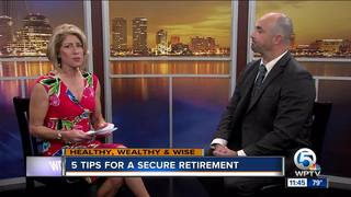 5 tips for a secure retirement