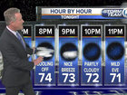 Cool evening, patchy fog possible