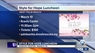 'Style for Hope' luncheon March 10 at the Kravis