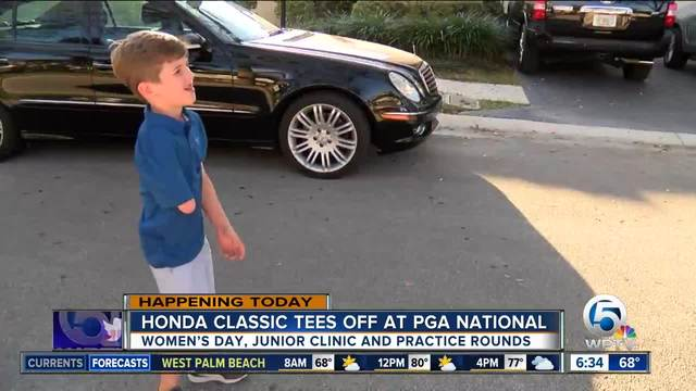 Honda Classic hosts women-s day- junior clinic