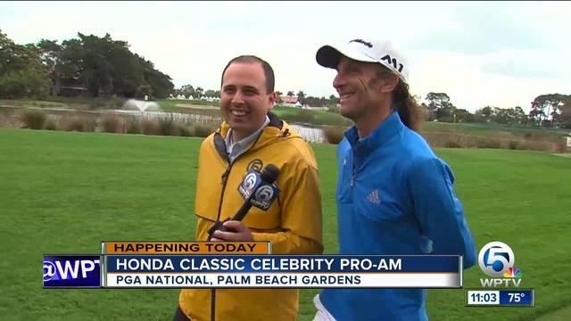 Celebrity Pro-Am underway at Honda Classic