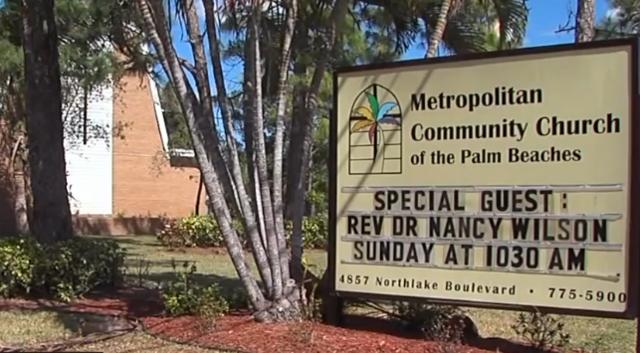 LGBT church in Palm Beach Gardens vandalized wptvcom