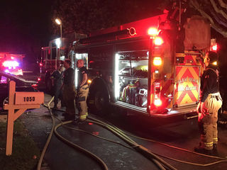 Resident escapes Delray Beach house fire