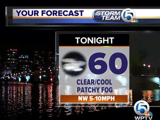 Clear and cool overnight