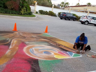 Street Painting Festival this weekend