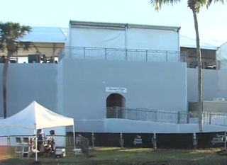 Inside the 'Legend's Club' at the Honda Classic