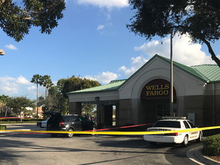 Person robbed while leaving ATM at Wells Fargo