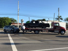 Injury crash causes delays in West Palm Beach