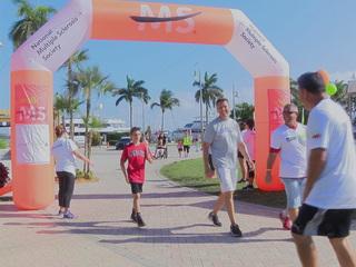 MS 5K Walk held in downtown West Palm Beach