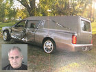 Cops: Man crashes into hearse, charged with DUI