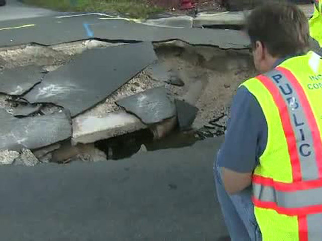 Broward Co- sinkhole