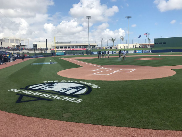 Ballpark of the Palm Beaches Prepped for Debut