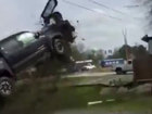 High-speed crash caught on camera