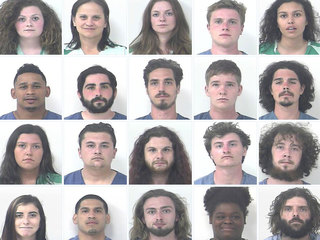 99 drug arrests in St. Lucie County in 2 days