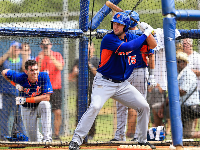 Tebow to make major league spring training debut