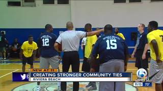 Police department has basketball team in league