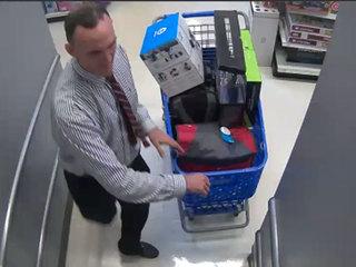 Sharp-dressed man robs local Toys 'R' Us