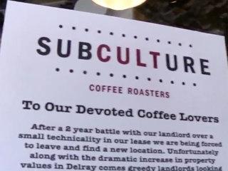 Delray coffee shop closure shocks customers