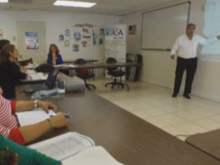 Professionals turn to accent reduction classes