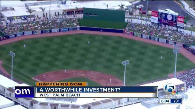 County says ballpark sell-out games a good sign for return on investment