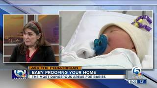 Tips on baby proofing your home