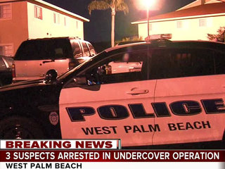 3 arrested in undercover West Palm operation