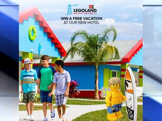 Enter to win a LEGOLAND family vacation