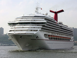 Search on for man who fell off Carnival ship