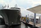 Boat show crowds steady, despite rain