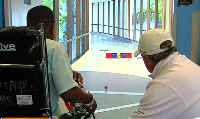 Palm Beach Children-s Hospital sets up -Little Links-