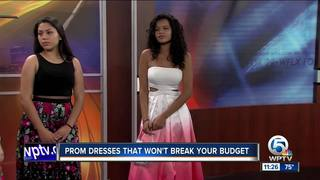 Prom dresses that won't break the bank