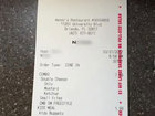 Fla. Wendy's worker fired over racist receipt