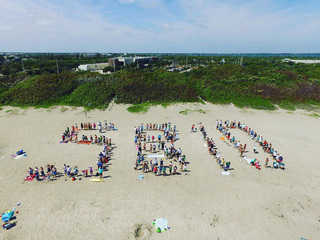 Clean water protest held on Stuart Beach