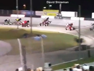 Sprint car driver dies in Florida speedway crash