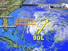 Low pressure off Bahamas