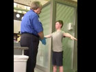 Video of boy's pat-down at airport goes viral