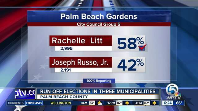 Runoff Elections Held In Boynton Beach Jupiter And Palm Beach Gardens