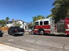 Apartment fire extinguished in Lake Worth