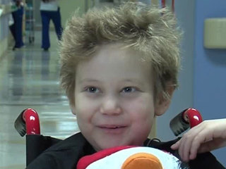 7-year-old Sebastian boy now cancer free