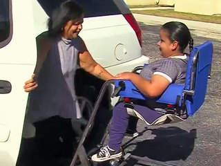 Teen receives special gift to aid her mobility
