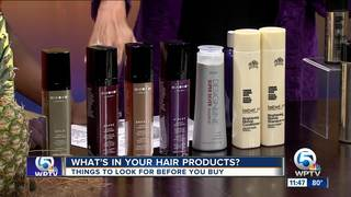What's in your hair and beauty products?