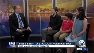 Audition day at Maltz Jupiter Theatre