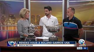 'Rendez-vous à Roland-Garros' tennis tournament