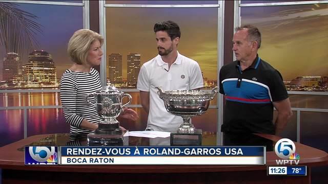 -Rendez-vous - Roland-Garros- tennis tournament in Boca Raton