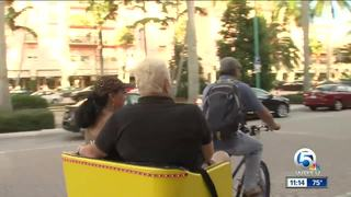 Delray Beach put brakes on pedicab proposal