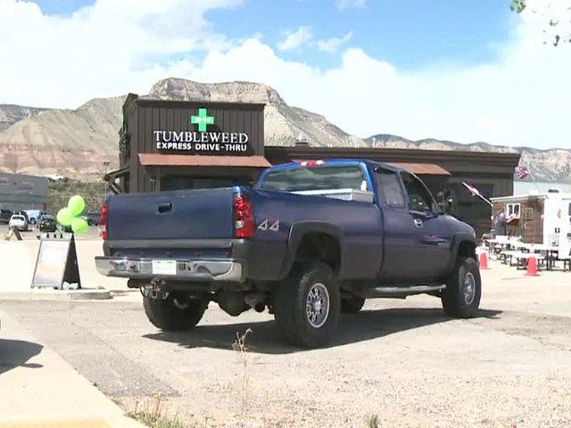 Drive-Thru Pot Dispensary Opens in Colorado