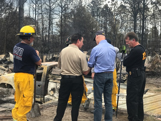 Gov. Scott issues update on Florida wildfires