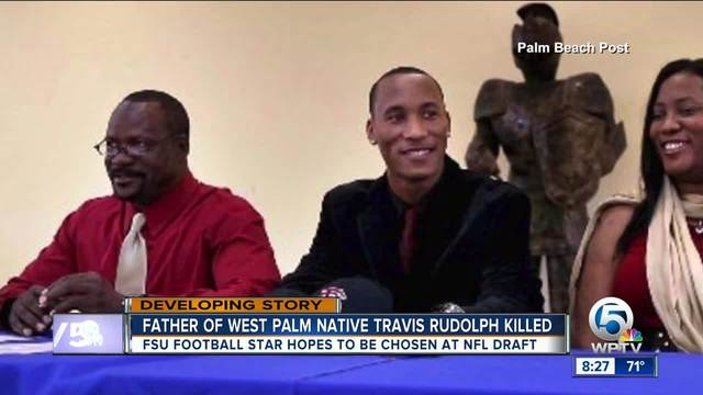 Father of Florida St- football player Travis Rudolph killed in Palm…