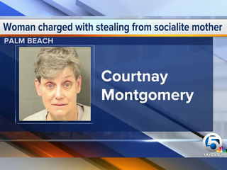 Daughter charged with stealing millions from mom